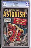 Tales to Astonish (Pre-Hero) #25 CGC 8.5