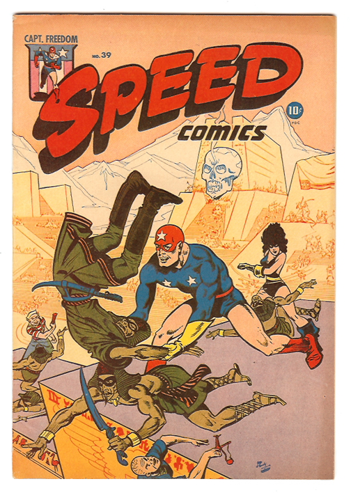 Speed Comics #39 VF/NM Front Cover