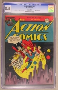 Action Comics #81 CGC 8.5 VF+
