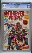 Forever People #1 CGC 9.6