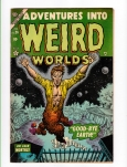 Adventures into Weird Worlds #26 F/VF